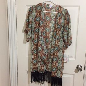 LuLaRoe New With Tags Monroe Kimono